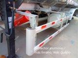 Tri-Essieux de remorque d'alliage d'aluminium semi pour la mémoire et le transport d'essence