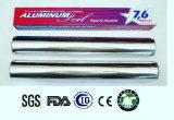 Papier d'aluminium qualifié par ce vert d'utilisation de vie avec 8011-0 0.014X290mm