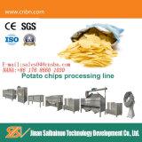 Cer-halbautomatische frische Kartoffelchip-Strangpresßling-Standardpflanze