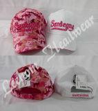 Construído Pink camuflar as tampas de beisebol da Caça