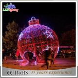屋外LEDの軽いクリスマスの球の装飾ライト休日LEDのモチーフライト