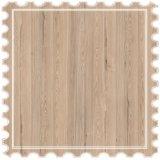 Pisos laminados en relieve de la Junta de patrón de pino para interiores, pavimento de tierra