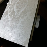 Панель стены смеси WPC пленки PVC декоративная материальная деревянная пластичная