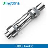Tank 2 van de Patroon 0.5ml van Kingtons Nieuwe Hete de Verstuiver van de Olie Cbd