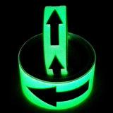 安全印のための暗闇のCuation Photoluminescentテープで光る4時間