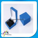 Joyeria Colgante Plástico Azul Paquete de Papel Caja de Terciopelo con el Logotipo de Impresion