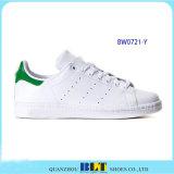 Zapatos ocasionales de la marca de fábrica caliente de la venta con Stan blanco de cuero Smith