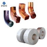 El color de la bobina de aluminio recubierto de canalones de aluminio Perfil de Casa moderna decoración