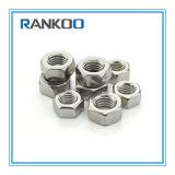Noix lourde épaisse Hex de l'acier inoxydable DIN934