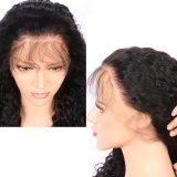 Haut de la qualité de vente chaude brésilien de l'Afro Kinky Curly perruque de cheveux humains Lace Front sur la vente