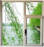 Окно Casement порошка Coated белое алюминиевое/окно тента (ACW-045)