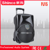 De alta calidad Shinco15'' Rechargebale altavoz Bluetooth