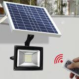 Indicatore luminoso solare dell'inondazione file calcio esterno LED di illuminazione del fuoco di illuminazione LED del proiettore