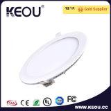 白いフレーム3With6With9With12With15With18With24W屋内LEDの照明灯