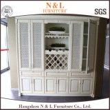 Gabinete de cozinha branco da madeira contínua DIY de N&L de China