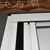 Profilé en aluminium invisible écran de fenêtre, moustiquaire K06025