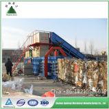 Бумага, пластик, металл упаковочных материалов и гидравлическим приводом типа машины пресс-подборщика для бумажных отходов лома черных металлов