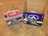 DIN Munac50mf 12V50ah bateria automático sem manutenção