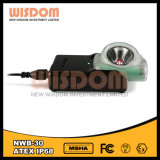 LEDのヘッドライトの小さく軽い充電器