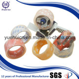 Caja de embalaje sellado empleaban cinta BOPP cristalina clara