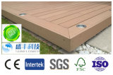 庭の景色の木製のプラスチック合成のフロアーリングWPCのDecking