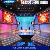 Pantalla de visualización a todo color de interior de LED del alquiler de la alta calidad P6 1/4s