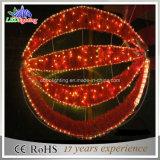 Kugel-Motiv-Licht des 120cm Weihnachten3d für im Freien