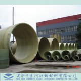 Beach Sea River에 FRP Sand Filling Pipes Used
