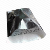 Sacchetti di plastica neri del bollettino di trasporto della busta