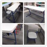 Escritorio y silla dobles populares (SF-15D) de los muebles de escuela de la alta calidad