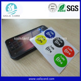 À haute fréquence 13.56MHz NFC Ntag203, Ntag213, Ntag215, collant d'IDENTIFICATION RF de Ntag 216