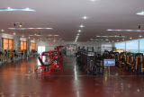 Magnético comercial bicicleta reclinada para equipos de gimnasio P97R1 (EMS)