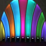 専門家RGBW 54*3Wの同価LEDの段階のディスコライト(CSL-654A)