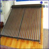 2016 de vacío a presión Metal Vidrio de calor de tubo colector solar de la pipa