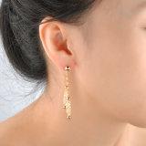 Femme élégante Les Filles de bijoux de fantaisie Crystal Drop Dangle Earring