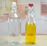 Bottiglie di vino di vetro verde di alta qualità