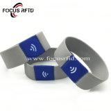 Bracelet RFID élastique durables pour le ticket d'accès
