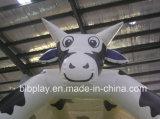 Drôle de gonflable Bounce avec le thème de la vache