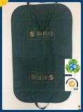 Sacchetto di indumento stampato marchio non tessuto pieghevole all'ingrosso