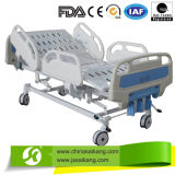 Cama de hospital del metal con el ajuste de altura
