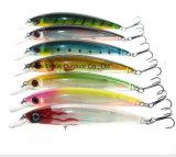 Attrait dur neuf de pêche de palan de pêche d'attrait du modèle 11cm Minow