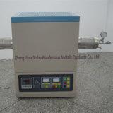Laboratorio de 1700 Tubo de vacío de horno con tubo de Al2O3 y la brida de sellado