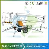 6m aan 10m200kg Ce Goedgekeurd Articulerend Lucht Werkend Platform