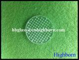 Heißer Verkaufs-weitere Prozess-Ausbohrungs-Quarz-Glas-Platten