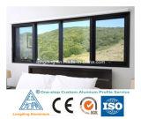 Profilo di alluminio su ordinazione della fabbrica per il portello e la finestra di alluminio