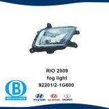 KIA Rio 2009 Foglight 92202-192201-1g600 g600 Fournisseur de pièces automobiles