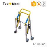 Topmedi medizinischer Gesundheits-faltbarer Aluminiumkind-Wanderer-gehende Helfer mit Rädern