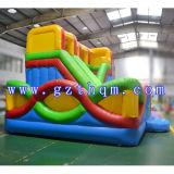 膨脹可能な折り畳み寝台の組合せのスライド/膨脹可能な跳躍の跳ね上がりの家