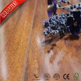 Bois bon marché HDF de teck de plancher de stratifié de mosaïque de la Chine des prix imperméable à l'eau