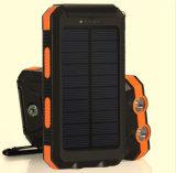 La Banca ricaricabile impermeabile di energia solare del caricabatteria 10000mAh